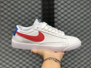 Nike Blazer Low White/Sail-Red Hook Lifestyle Shoes AV9371-110