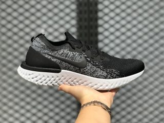 Nike Epic React Flyknit Core Black/Black-Dark Grey AQ0067-001