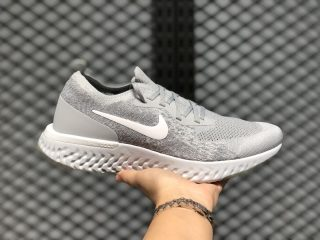 Nike Epic React Flyknit Wolf Grey/White-Cool Grey AQ0067-002