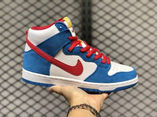 "Nike SB Dunk High ""Doraemon"" Hot Sale CI2692-400"