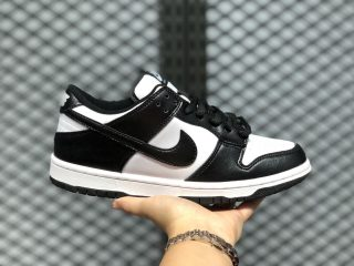 Nike SB Dunk Low SP Leather Shoes Black/White 304292-613