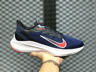 Nike Zoom Winflo 7 Midnight Navy/Bright Crimson-White CJ0291-400