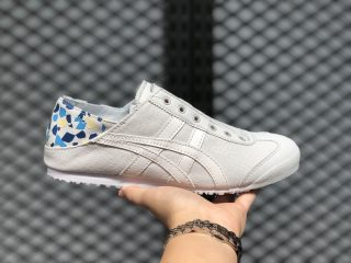 Onitsuka Tiger Light Grey/Blue Newest Shoes New Sale 1182A087-100