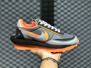 Sacai x Nike LDWaffle Safety Orange/Black-Wolf Grey BV0073-701