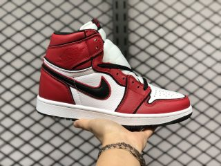 "2020 Latest Style Air Jordan 1 High OG ""Bloodline 2.0"" 555088-129"