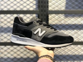 2020 New Release New Balance Black/Grey Athletic Sneakers M997CUR