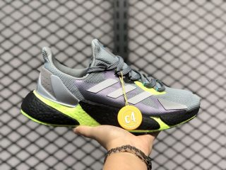 Adidas Boost X9000L4 Cool Grey/Volt/Fluorescent Yellow FW8385