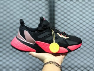 Adidas X9000L4 Boost Core Black/Signal Pink Running Shoes FW8389