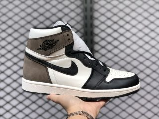 Air Jordan 1 High OG Sail/Dark Mocha-Black-Black 555088-105