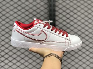 Buy Nike Blazer Low Prm Cloud White/University Red 454471-815