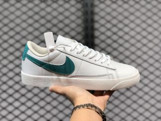 Cheap Buy Nike Blazer Low Cloud White Green Lifestyle Shoes 454471-013