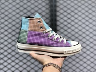 Converse Chuck 70 High Shoes Dewberry/Iced Coffe/Egret 166317C
