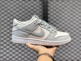 Men's Nike SB Dunk Low Cream White/Light Blue Grey For Sale AR0778-006