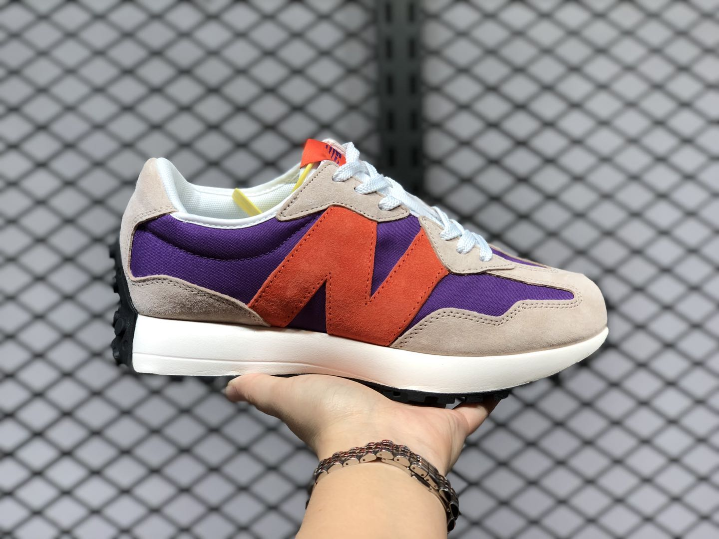 new balance 327 purple