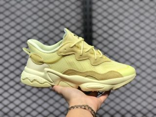 New Release FY2303 Adidas Originals Ozweego Yellow Sneakers