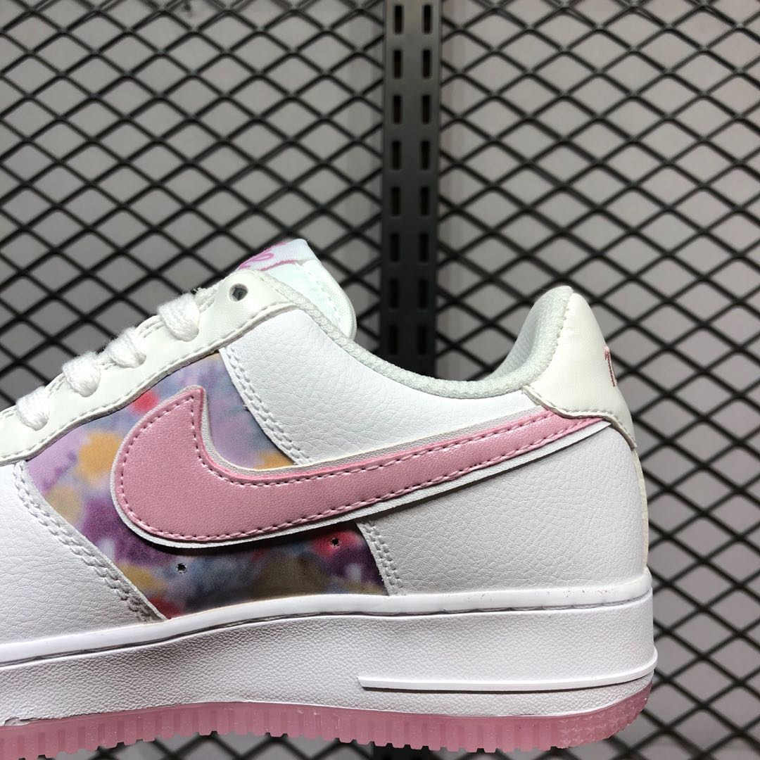 Inconsciente italiano Raramente  2020 Latest Nike Air Force 1 White/Light Arctic Pink/Silver | Sneakers Big  Sale