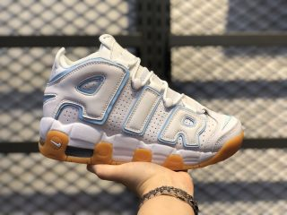 Nike Air More Uptempo White/Aqua-Gum Light Brown-Ocean Bliss 415082-107