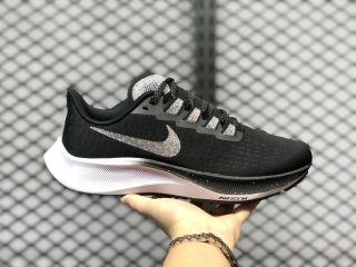 2020 Latest BQ9646-003 Nike Air Zoom Pegasus 37 Black/Vast Grey-Oil Grey