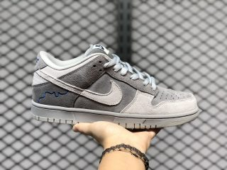 "Nike SB Dunk Low ""London"" Soft Grey/Magnet On Sale 308269-111"