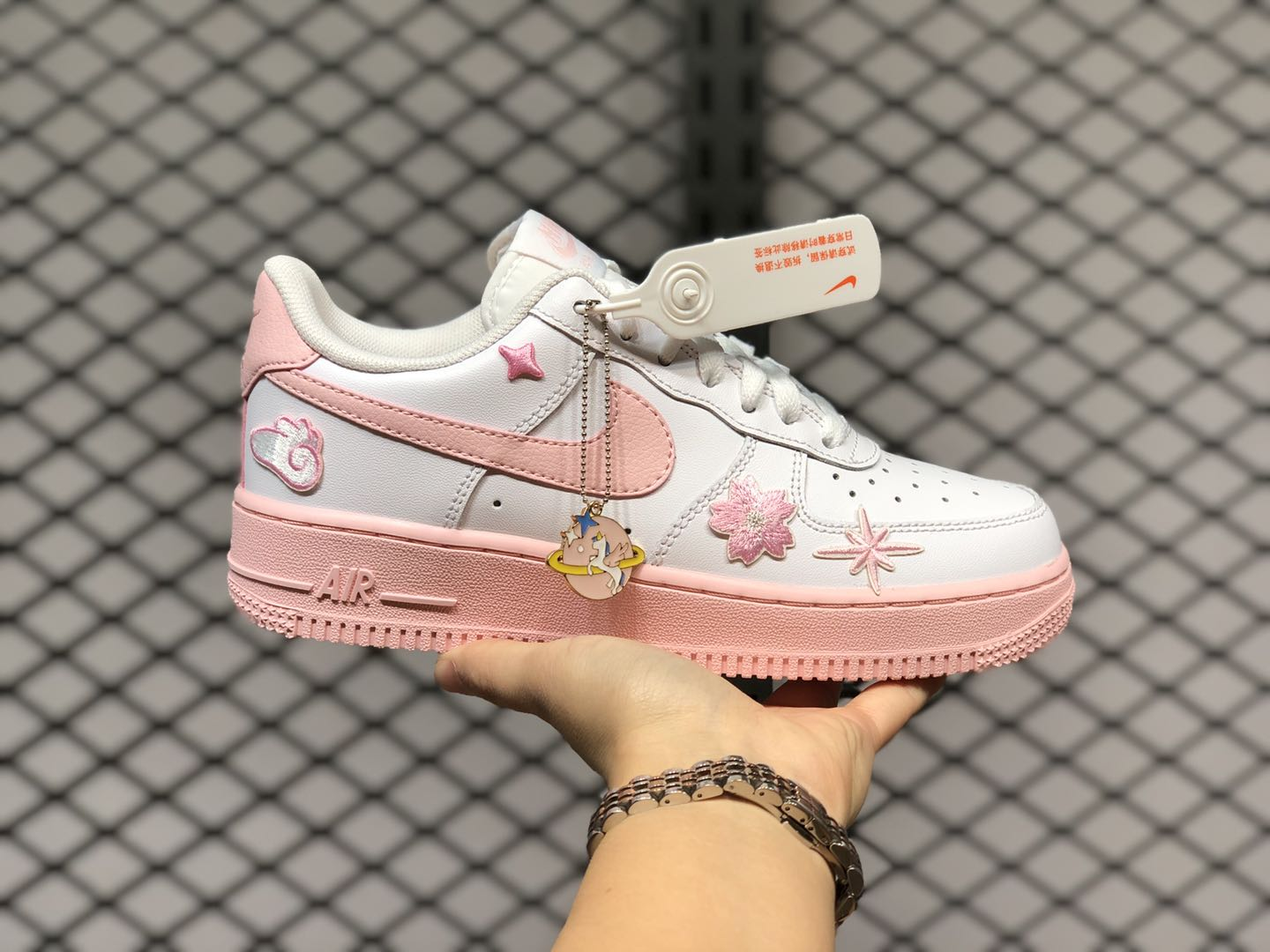 New Release Nike Wmns Air Force 1 Pink Foam White CV7663-100 ...