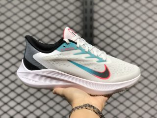 Nike Zoom Winflo 7 White/Black-Flash Crimson-Vapor Green CJ0291-100
