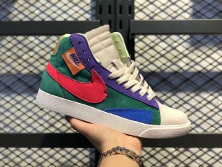 2020 Latest Nike Blazer Mid Rebel Rebel Psychic Purple CQ7786-561