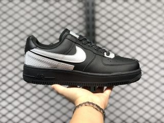 3M x Nike Air Force 1 Low Black Silver Outlet Online CT2299-001