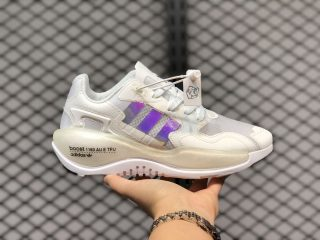 Adidas Originals ZX Alkyne Boost White Iridescent For Sale FY3026