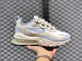 Best Sell Nike Wmns Air Max 270 React Summit White/Fossil-Sail CT1287-100