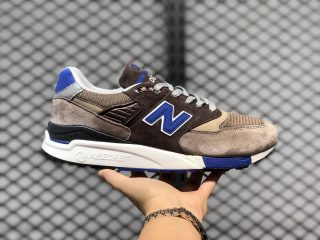 Men's Sneakers New Balance M998 Brown/Black-Team Royal M998SBA