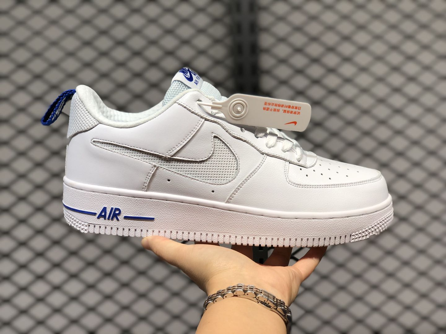 AIR FORCE 1 LOW 'WHITE ROYAL BLUE'