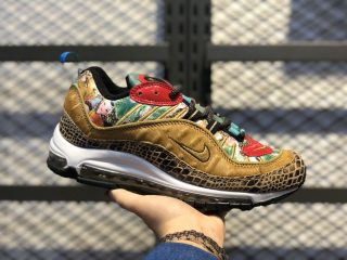 "Nike Air Max 98 ""Chinese New Year"" Multi-Color/Metallic Gold-University Red BV6649-708"
