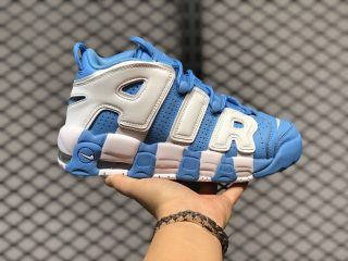 Nike Air More Uptempo University Blue/White For Sale 921948-401
