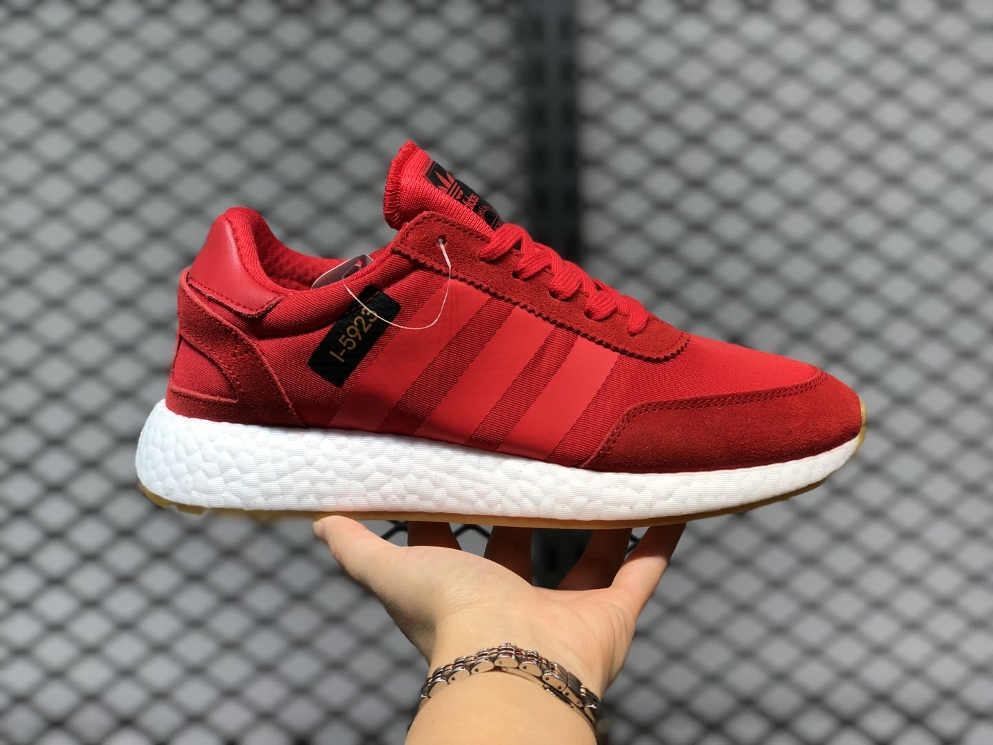 Adidas L-5923 Originals Trainers Gym Red/White For Buy B42225