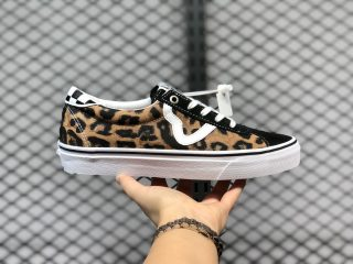 New Vans Sport x Sandy Liang Leopard/Black Skate Shoes In Stock
