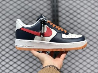Nike Air Force 1 Low Cloud White/Navy Blue-Gym Red For Buy AQ4134-402