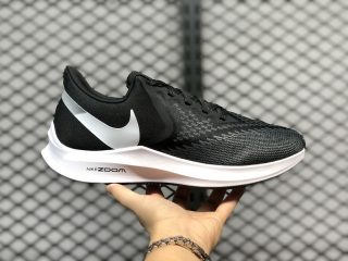 Nike Air Zoom Winflo 6 AQ7497-001 Black/White-Dark Grey New Sneakers