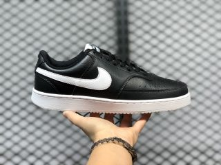 Nike Court Vision Low Black White Shoes Cheap Price CD5434-001
