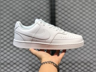 Nike Court Vision Low Triple White Casual Sport Shoes CD5434-100
