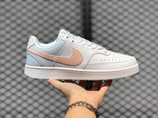 Nike Court Vision Low CD5434-103 White Washed/Coral Aura-Pale Ivory