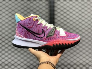 "New Nike Kyrie 7 EP ""Hendrix"" Active Fuchsia/Black-Ghost DC0588-601"