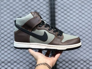 Nike SB Dunk High Pro Baroque Brown/Black-Brun Baroque-Noir BQ6826-201