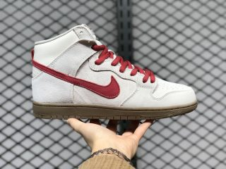 Nike SB Dunk High Pro Birch/Hyper Red Outlet Online 305050-206