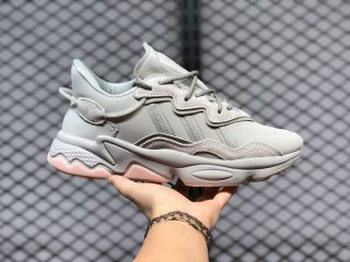 Women's Adidas Originals Ozweego Metal Grey/Feather Grey/Vapour Pink FZ1963