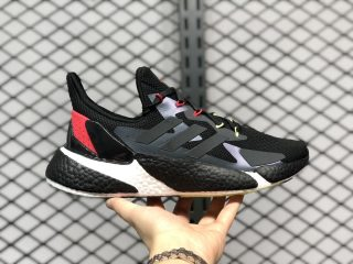 Adidas Boost X9000L4 Black/Solar Red-White For Sale FY0775