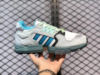 Adidas Originals ZX Torsion Orbit Grey/Blue Glow-Black EF4344
