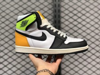 "Air Jordan 1 High OG ""Volt Gold"" White/Volt-University Gold-Black 555088-118"