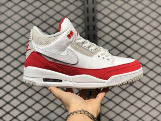 "Air Jordan 3 Tinker ""Air Max 1"" White/University Red-Neutral Grey CJ0939-100"