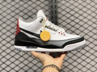 Air Jordan 3 Tinker NRG White/Fire Red/Cement Grey-Black AQ3835-160