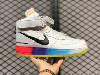 "Nike Air Force 1 High ""Have A Good Game"" White/Luminous DC2112-192"